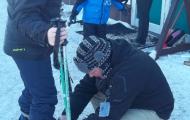 Na narciarskim stoku. Ferie 2014