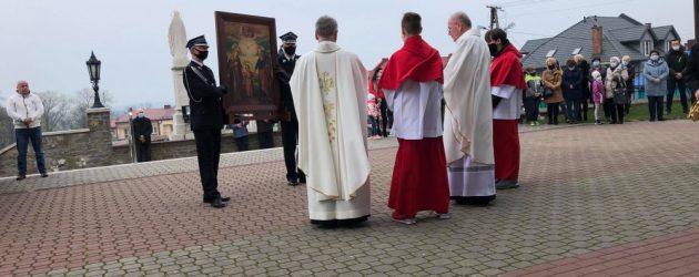 Obraz Św. Józefa przybył do Parafii