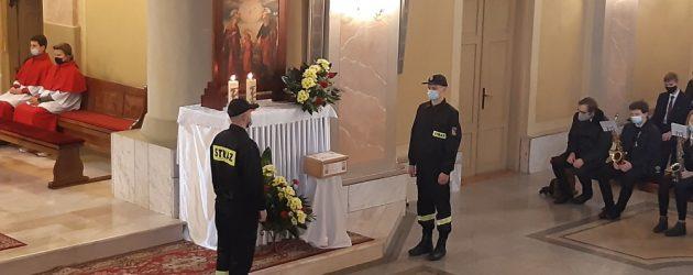Msza św. w intencji Ojczyzny i OSP w Łopuszno