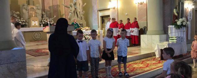 Przedszkolaki zakończyły rok katechetyczny